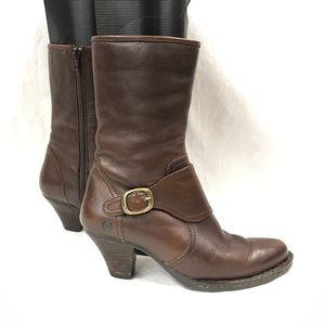 Born monk strap boots